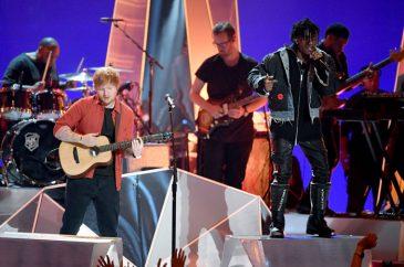 Ed Sheeran & Lil Uzi Vert Perform at the 2017 MTV Video Music Awards
