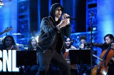 "Eminem Performs Live on NBC's ""Saturday Night Live"""