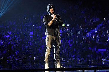 Eminem Performs at The 2017 MTV European Music Awards