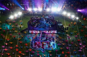 Justin Timberlake Performs For The Super Bowl LII Pepsi Half Time Show